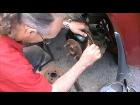 2007 Pontiac G5 Rear Drum Brake Service