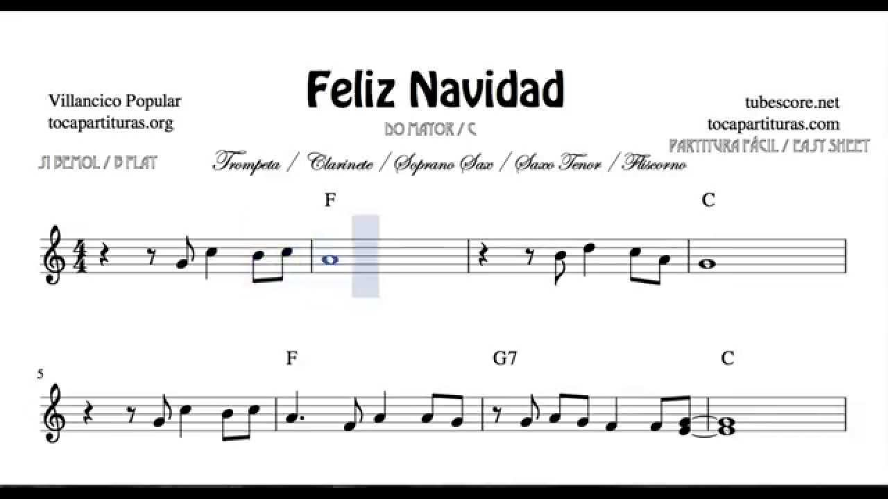 I Wanna Wish You A Merry Christmas Sheet Music For Trumpet Clarinet Tenor And Soprano Sax B Flat