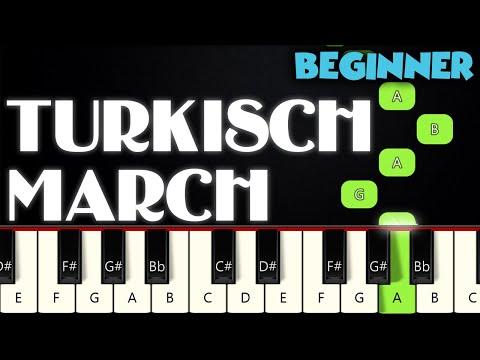 Turkish March - Mozart | BEGINNER PIANO TUTORIAL + SHEET MUSIC by Betacustic