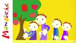 Hüvelykujjam almafa (mondóka, rajzfilm gyerekeknek)