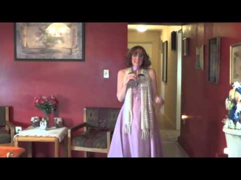 Pamela Ann Vance Singing I'm All Out Of Love By: Air Supply