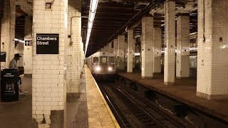 NYC Subway: Chambers Street - The Most Rundown Station in the System