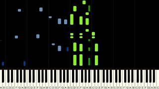 WELLERMAN (Sea Shanty) | Piano Tutorial (Synthesia) plus Sheets