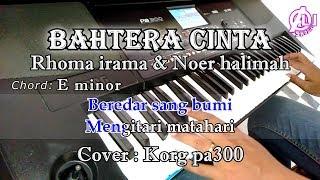 Download lagu BAHTERA CINTA - Rhoma irama Dan Noer halimah - Karaoke Dangdut Korg Pa300