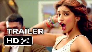 khoobsurat official trailer 1 2014 sonam kapoor romantic comedy hd