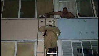 Из-за брошенного сверху загорелась квартира в Хабаровске. MestoproTV