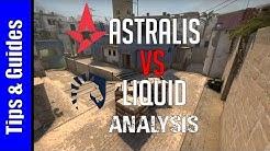 Analysis : Astralis vs Team Liquid @ ECS S5 Finals (Mirage First Half)