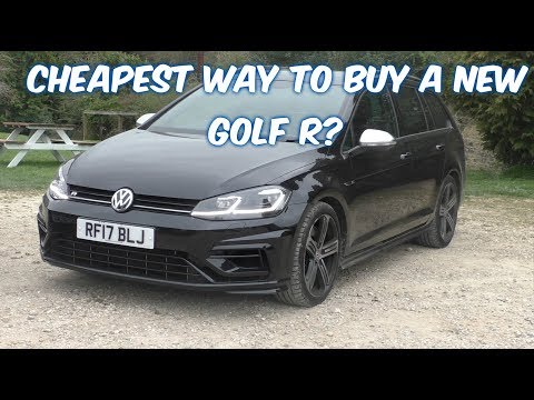 Is leasing a GOLF R really cheaper than buying? two year cost analysis