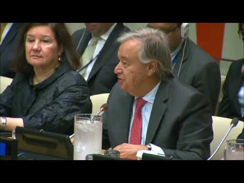 UN Chief at High-Level Event on United Nations Reform
