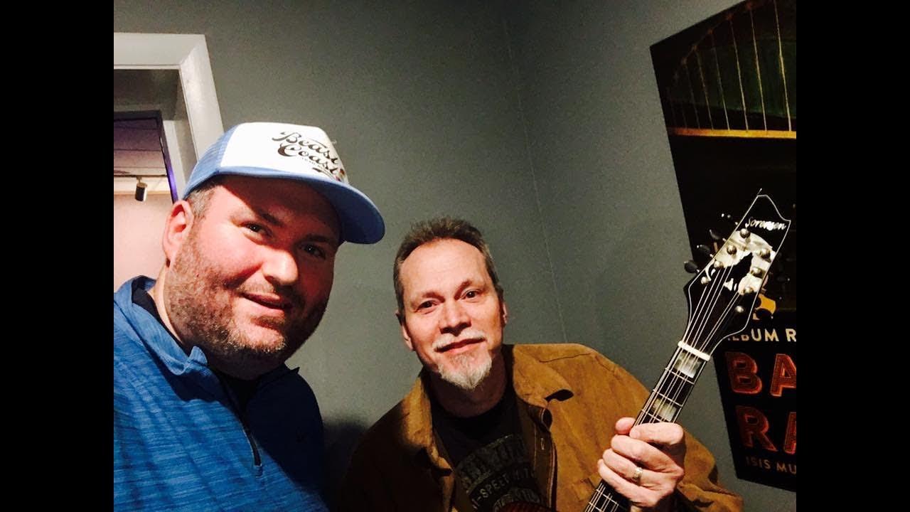 """Danny Roberts plays a Sorensen """"Big Dog"""" Octave mandolin"""