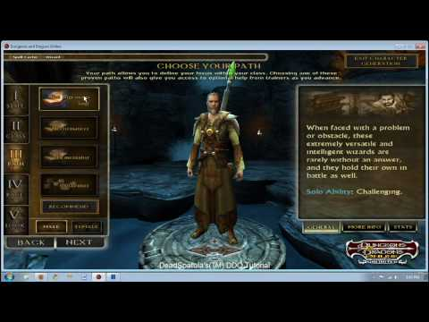Basics of DDO Character Creation