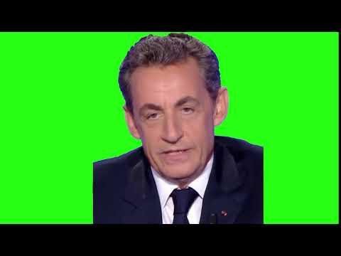 Quelle Indignite Nicolas Sarkozy Fond Vert Green Screen Youtube