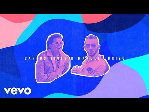 Carlos Vives, Manuel Turizo - No Te Vayas (Remix - Official Lyric Video)