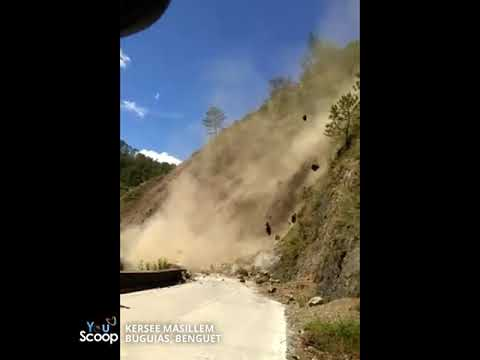 YouScoop: Landslide sa Buguias, Benguet