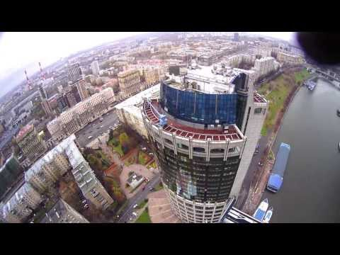 Над вершинами небоскрёбов, Москва-Сити