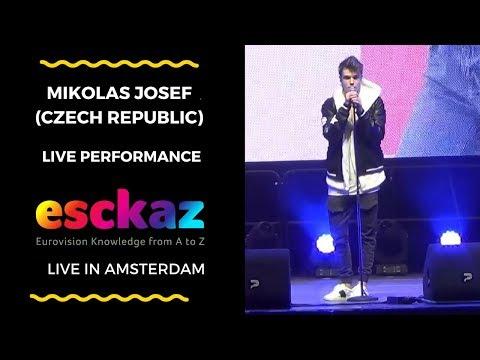 ESCKAZ in Amsterdam: Mikolas Josef (Czech Republic) - Lie To Me
