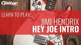 jimi hendrix hey joe intro lesson tgm learn to play