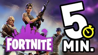 FORTNITE IN 5 MINUTES! Save the World Edition
