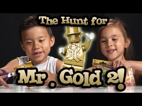 The Hunt for MR. GOLD PART 2! EvanTubeHD LEGO Series 10 Minifigure Unboxing & Review