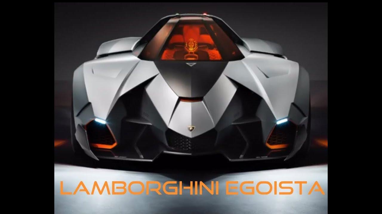 Lamborghini Egoista Back To The Future Car Youtube