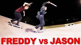 Freddy VS Jason - Halloween Skateboarding Special w/ Freddy Ernst & Jason Park