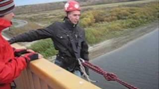 Роупджампинг - прыжки с веревкой с моста  в Тюмени