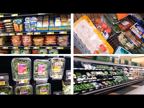 Vlog:Healthy Food Shopping (READ THE LABELS)
