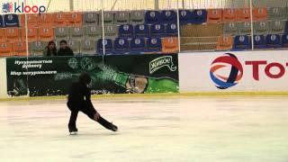 Чемпионат по фигурному катанию в Бишкеке