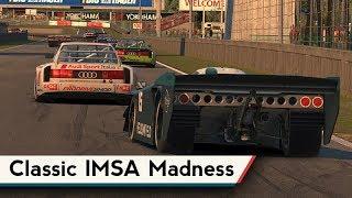 iRacing : Classic IMSA Madness! (Kamel GT @ Zolder)