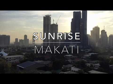 TRUMP TOWER SUNRiSE iN MAKATi ~ TiME-LAPSE ViDEO ~ DONALD TRUMP AND DUTERTE PHiLiPPiNES METRO MANiLA