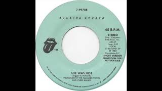 Rolling Stones - She Was Hot (Short Version)