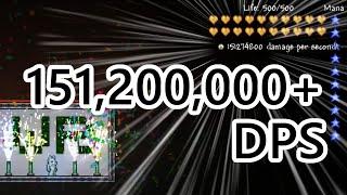Terraria 151M DPS - World Record