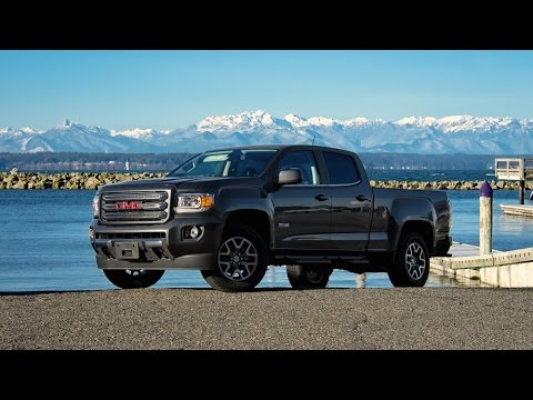 2015 GMC Canyon SLE Car Review - YouTube