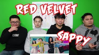 RED VELVET - SAPPY MV REACTION (FUNNY FANBOYS)