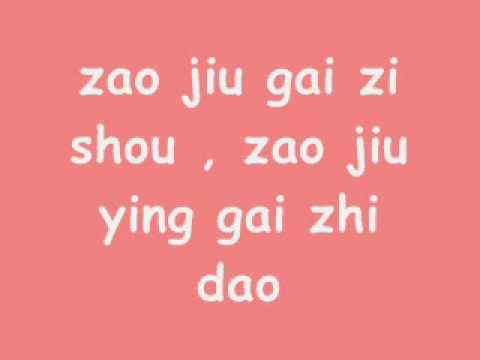 By2-DNA (pin Yin Lyrics)