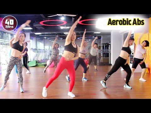 40 Menit Senam Sehat Aerobic Dance Melangsingkan Badan Step By Step L Senam Aerobik L Aerobic Abs