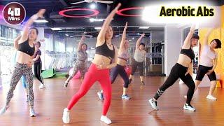 Download lagu 40 Menit Senam Sehat Aerobic Dance Melangsingkan badan step by step l senam aerobik l Aerobic Abs