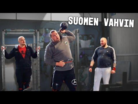 Treenaan Suomen Vahvimman Kanssa!