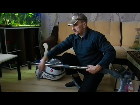 Как собрать моющий пылесос зелмер для влажной уборки видео