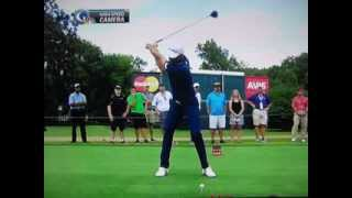 Dustin Johnson - 377 Yard Drive Ultra Slow Motion - 2013 Tour Championship