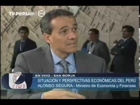 Segura: Perú es la única economía de la región que se está acelerando