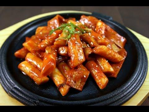 Làm Bánh Gạo Kiểu Hàn Quốc