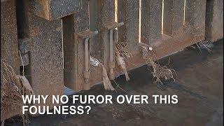 Stinky situation: Raw sewage from Mexico flows into Arizona