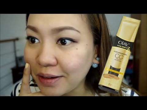 Olay Total Effects Pore Minimizing Cc Cream First Impression