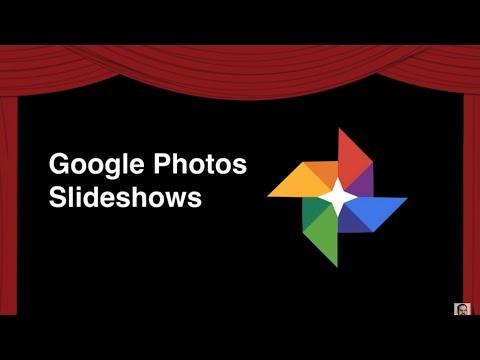 Slideshows with Google Photos