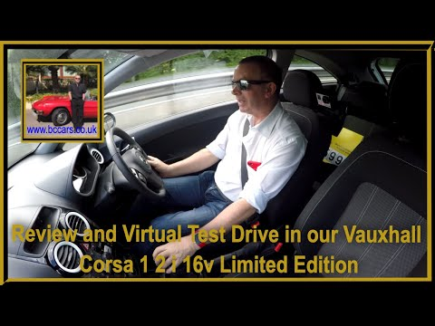 Review and Virtual Test Drive in our Vauxhall Corsa 1 2 i 16v Limited Edition