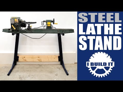 Making A Steel Lathe Stand