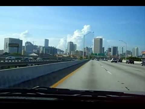 Miami Downtown I-95 North to South