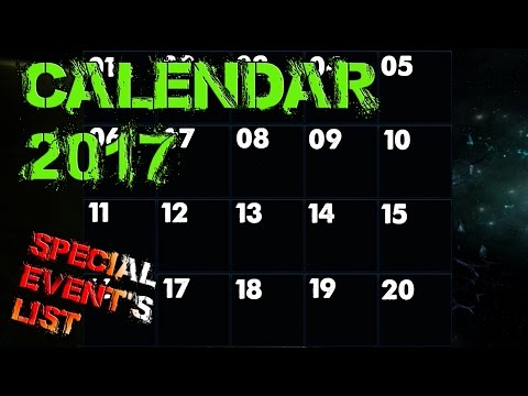 2017 Calendar special event listings - Star Trek Online