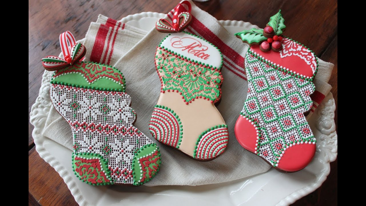How To Assemble 3 D Stuff Able Christmas Stocking Cookies